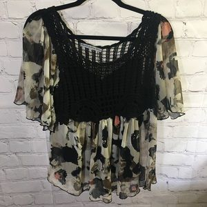 3/$25 Signature by Larry Levine 2-Pc Blouse